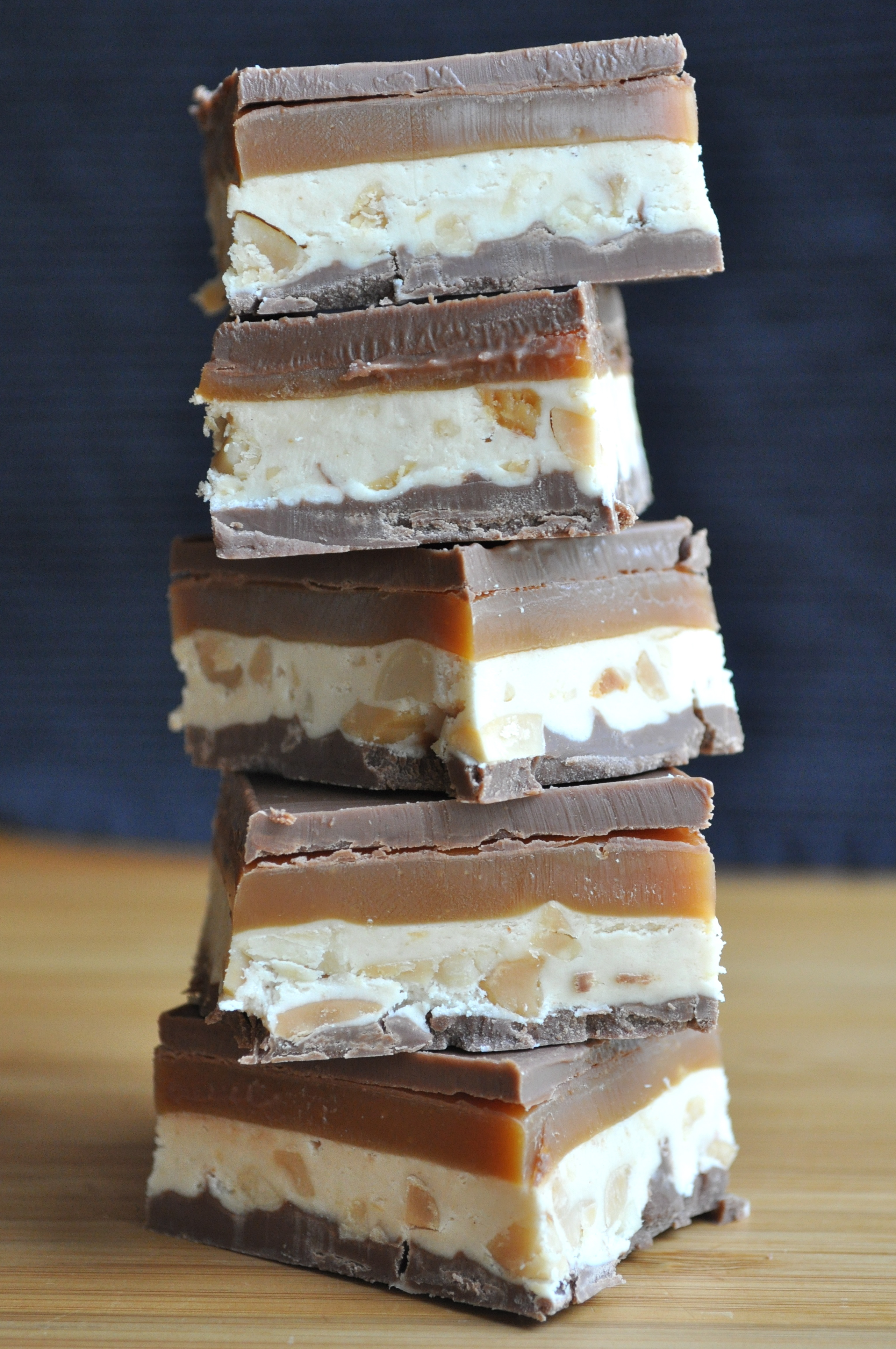 For Dad | Homemade Snickers Bars