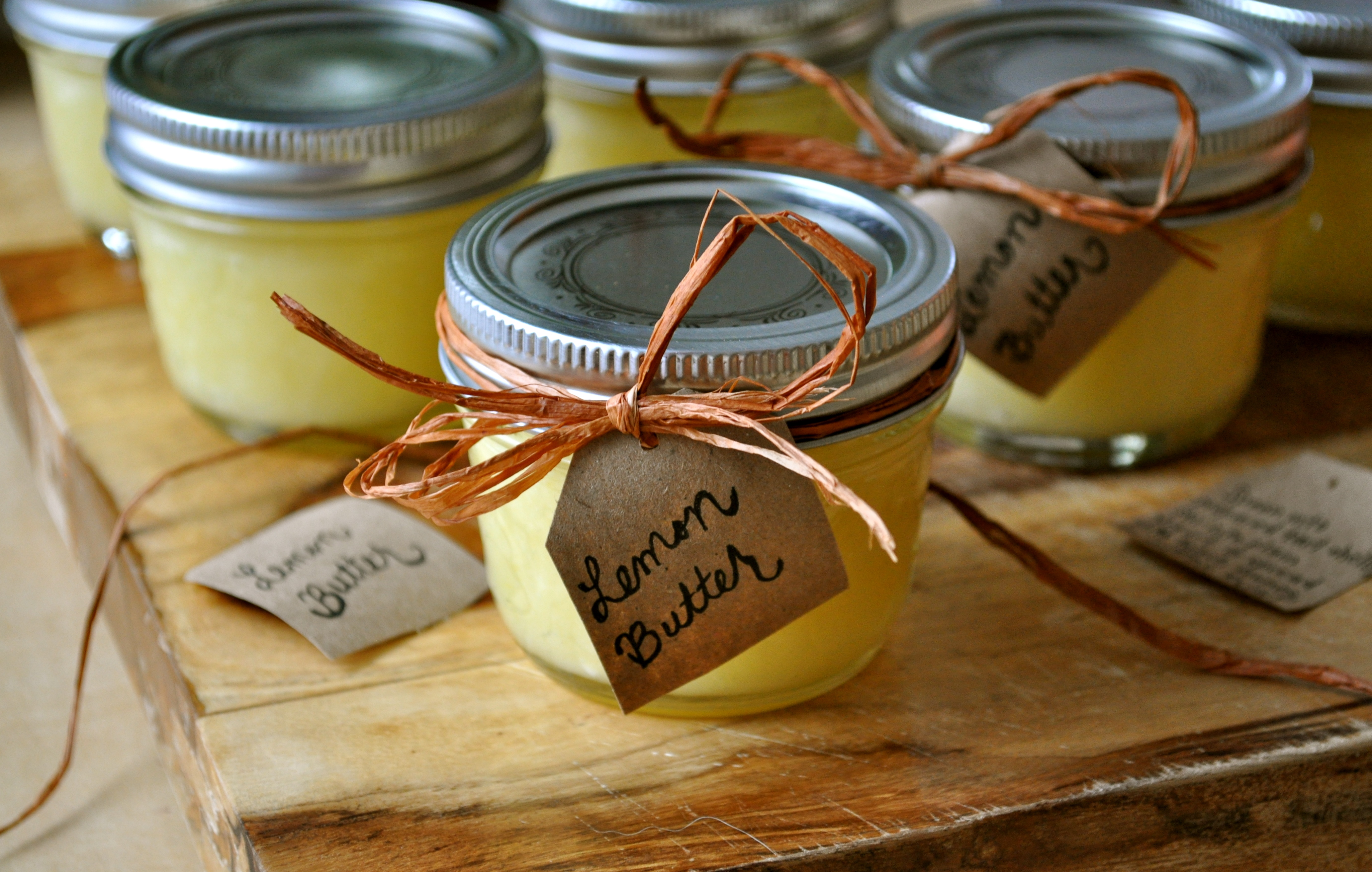 Lemon Butter | Once Upon a Recipe