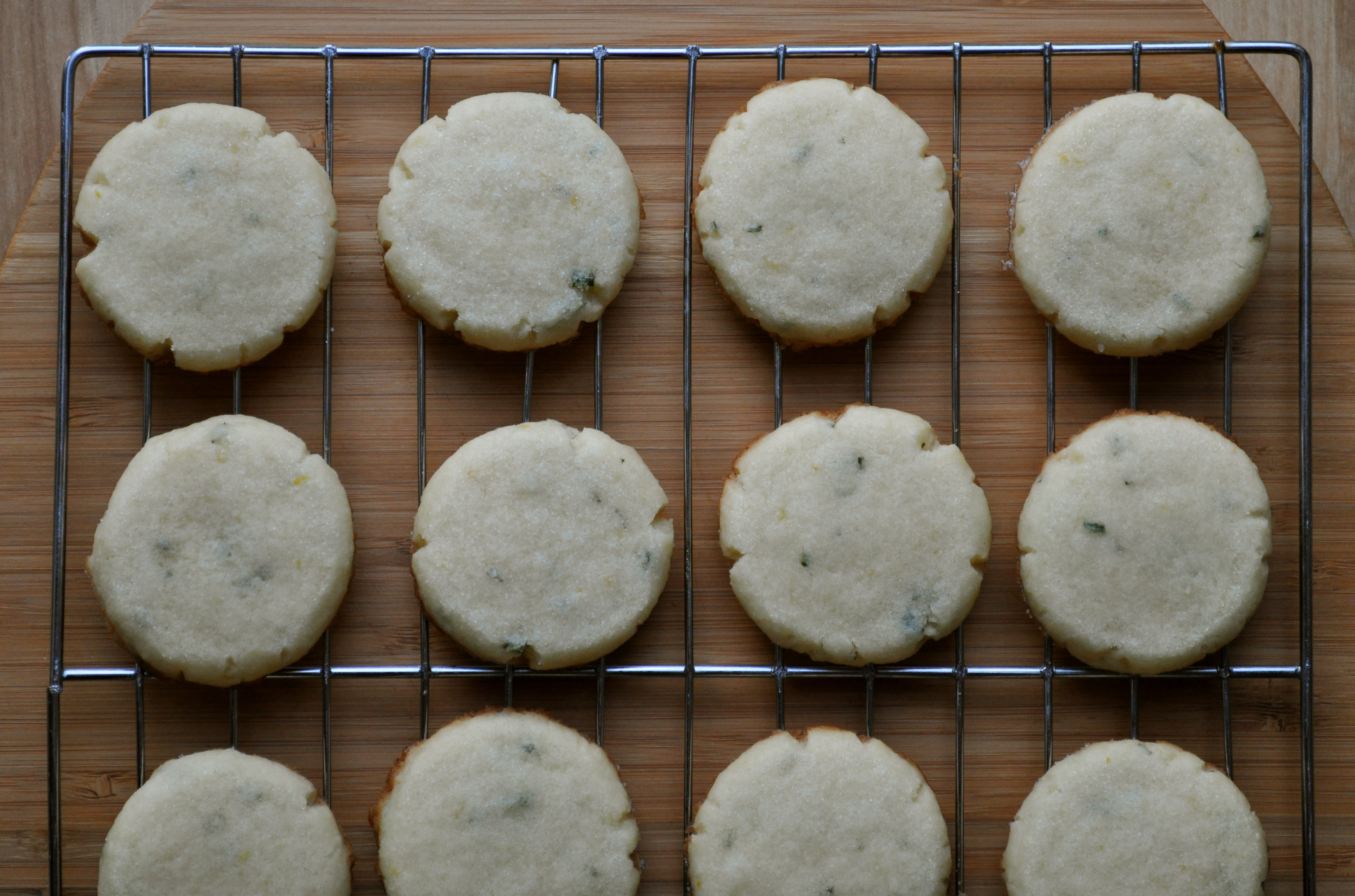 Rosemary-Lemon Sandwich Cookies | Once Upon a Recipe