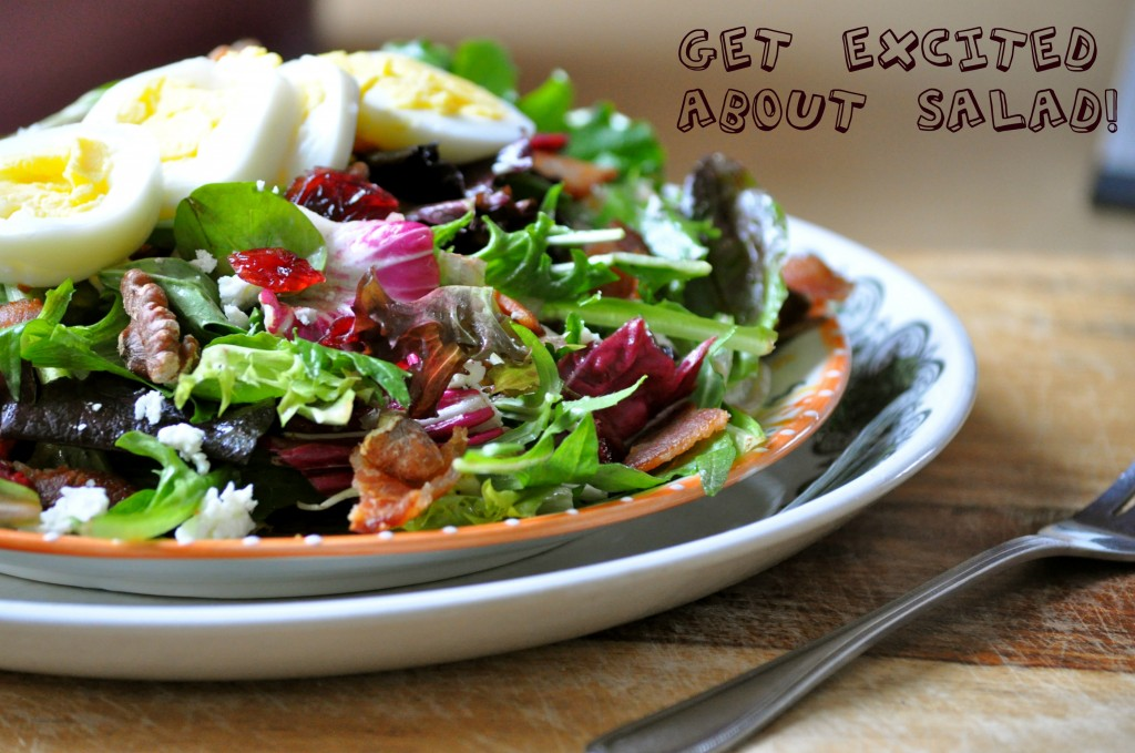 Get Excited About Salad! | Once Upon a Recipe