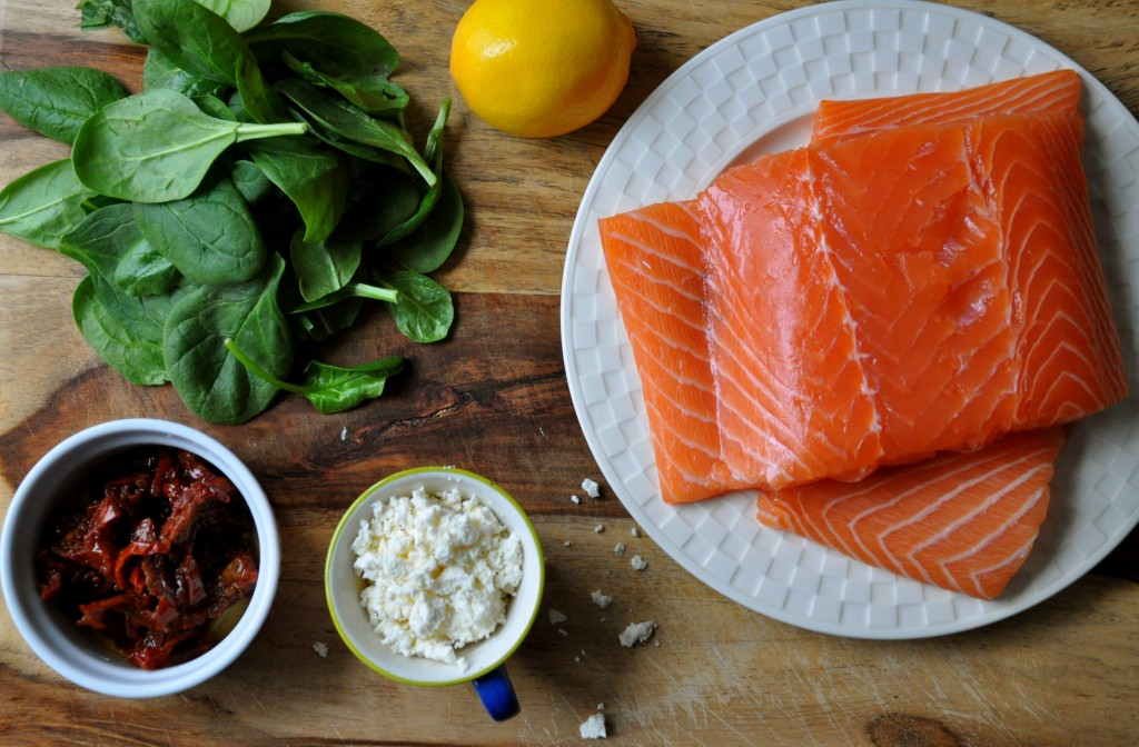 Stuffed Salmon | Once Upon a Recipe