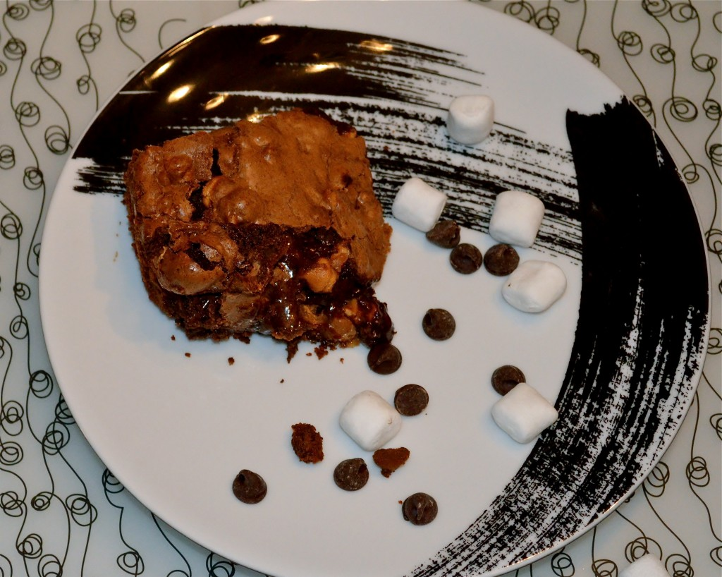 Guest Post - Read, Eat, Create - Rocky Road Brownies