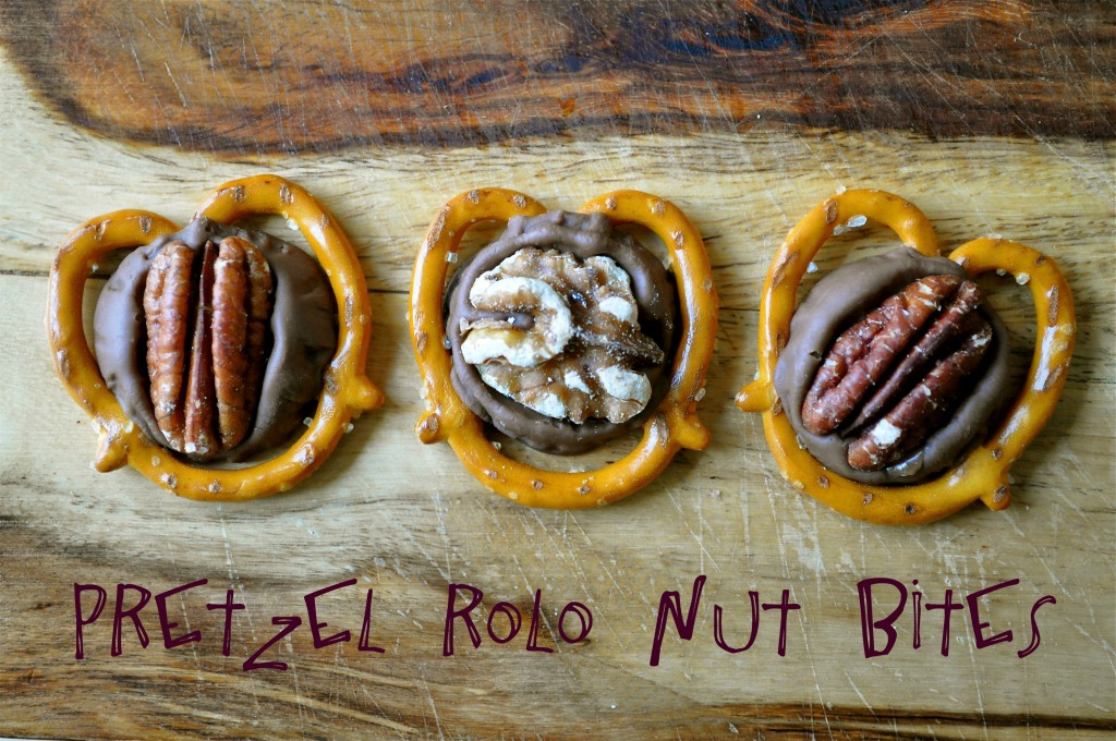 Pretzel Rolo Nut Bites | Once Upon a Recipe
