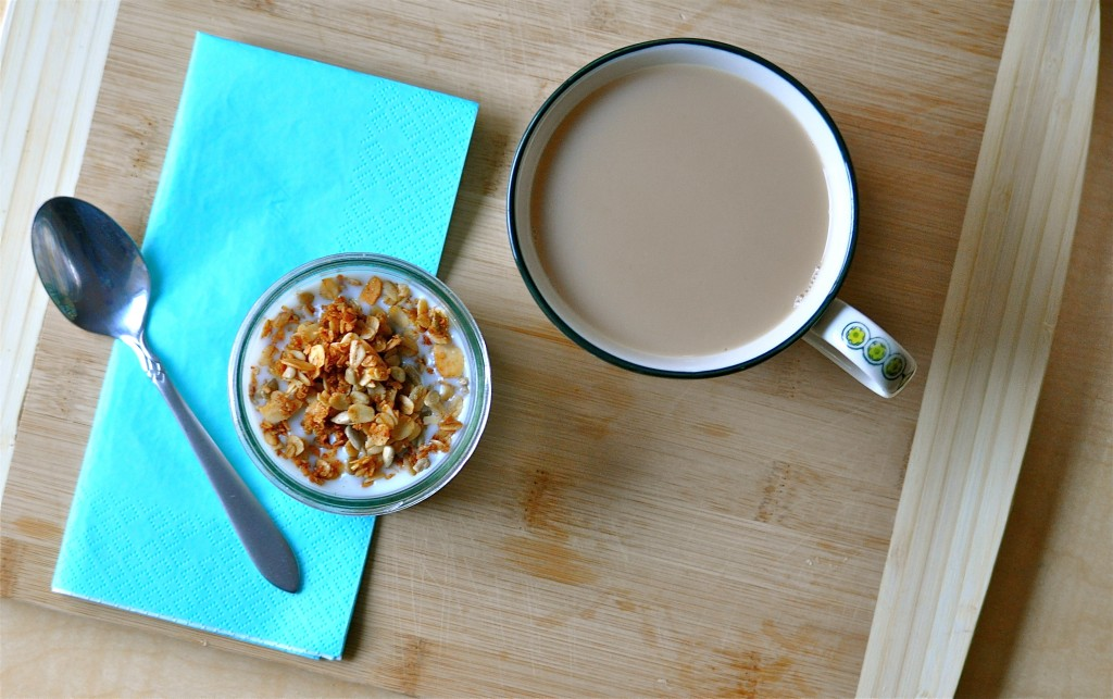 Coconut Oil Granola | Once Upon a Recipe