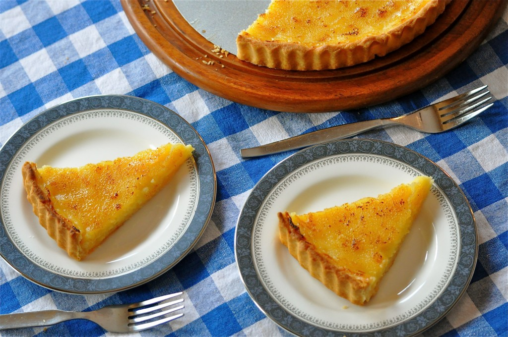 Brûléed Lemon Tart | Once Upon a Recipe