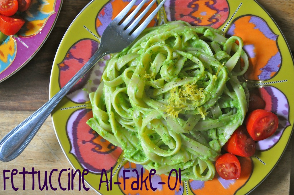 Fettuccine Al-Fake-O! | Once Upon a Recipe