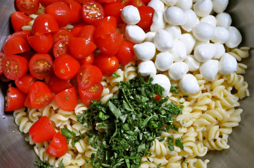 Caprese Pasta Salad | Once Upon a Recipe