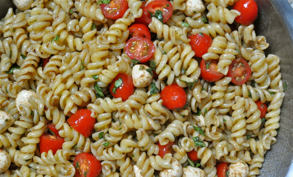 Perfect For Summer Caprese Pasta Salad