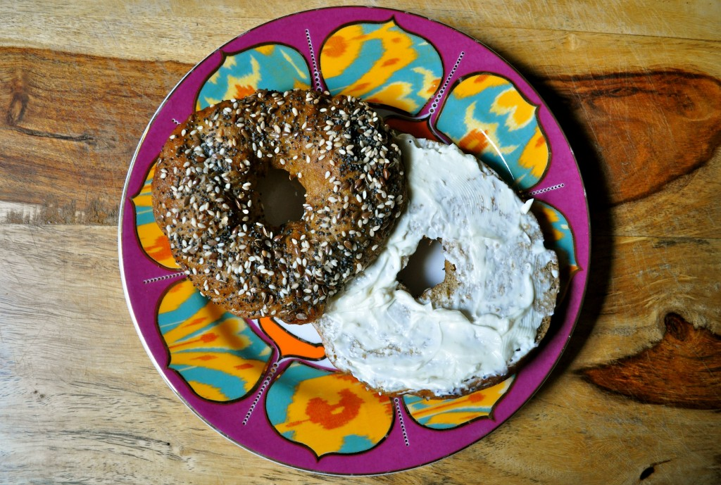 Whole Wheat Pumpkin Spice Bagels | Once Upon a Recipe
