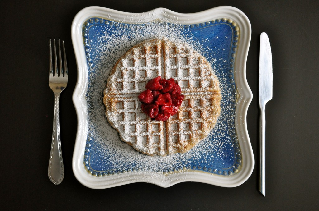Whole Wheat Coconut Waffles | Once Upon a Recipe