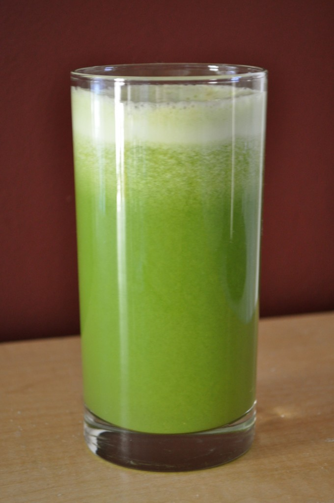 My Favorite Green Juice | Once Upon a Recipe