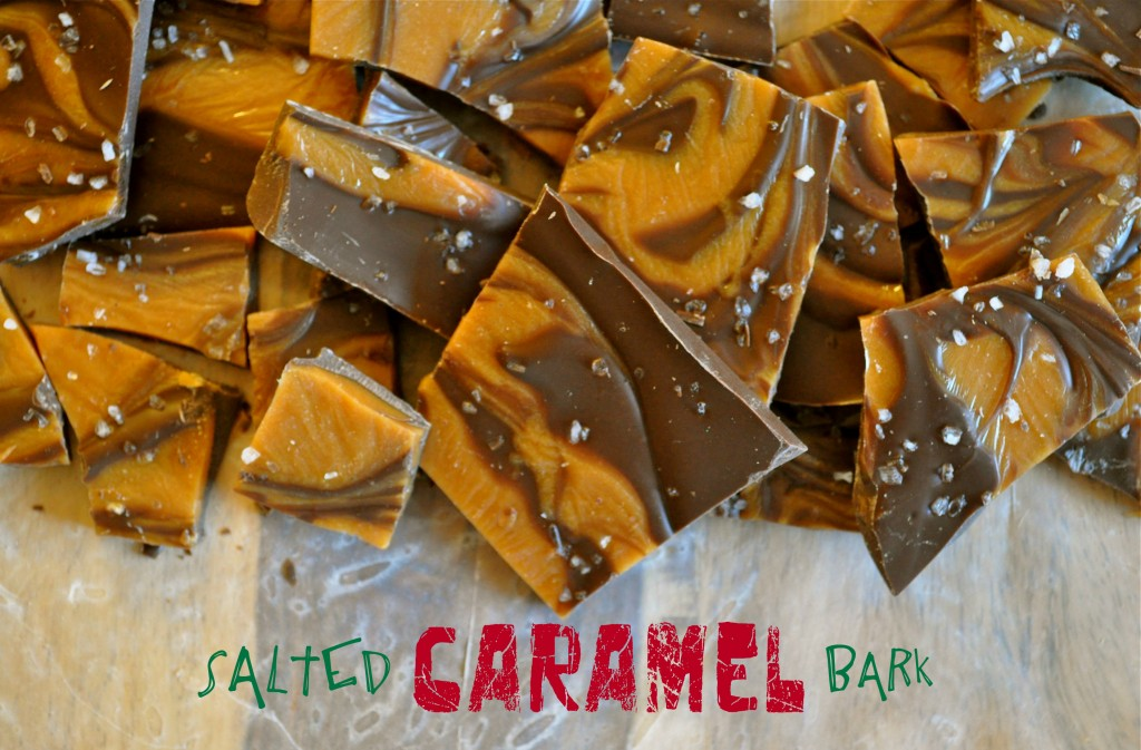 Salted Caramel Bark | Once Upon a Recipe