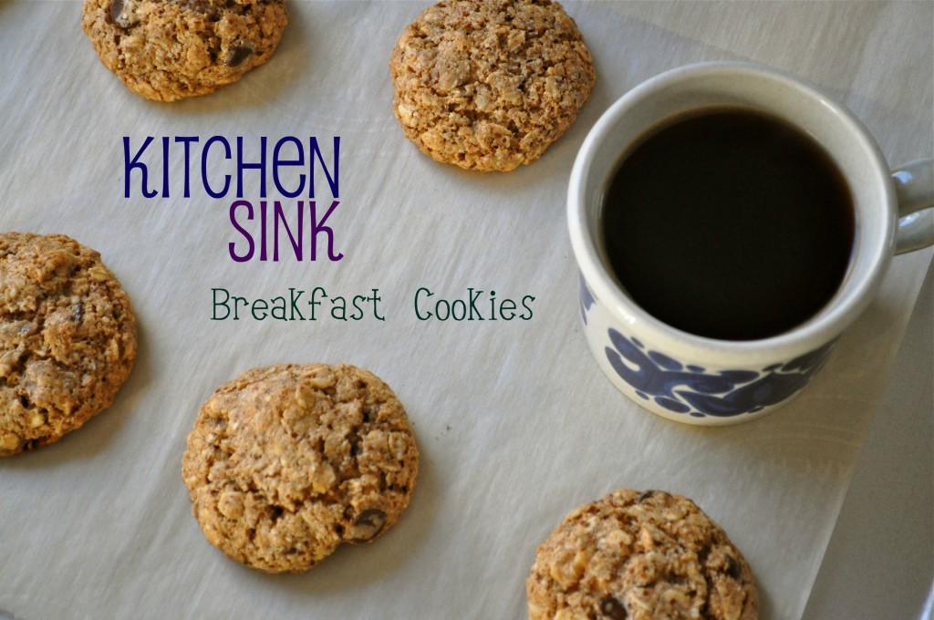 Kitchen Sink Breakfast Cookies | Once Upon a Recipe