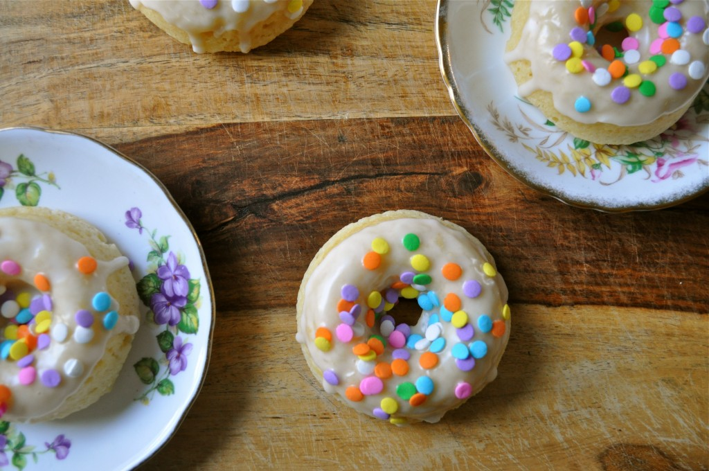 Lemon Yogurt Baked Donuts | Once Upon a Recipe