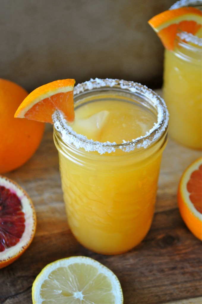 Fresh Citrus Margaritas | Once Upon a Recipe