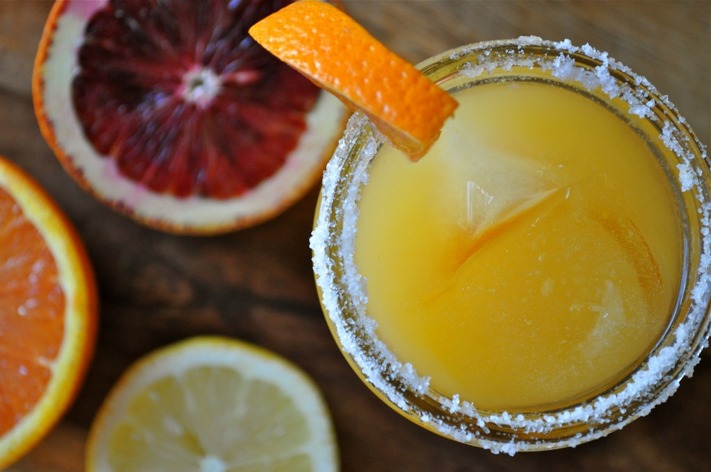 Fresh Citrus Margarita | Once Upon a Recipe