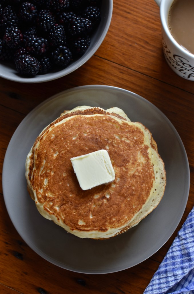 (The Best) Buttermilk Pancakes | Once Upon a Recipe